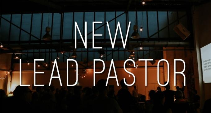 New Lead Pastor