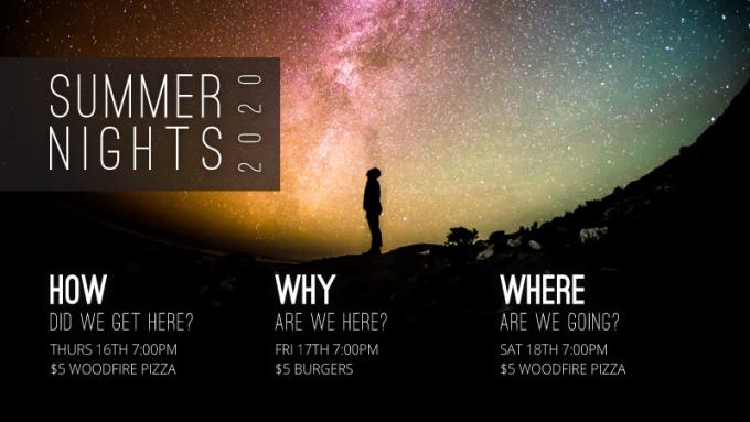 Summer Nights explore big questions